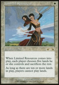 Limited Resources - Exodus