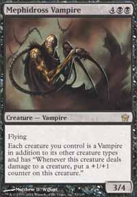 Mephidross Vampire - Fifth Dawn