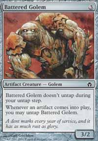 Battered Golem - Fifth Dawn