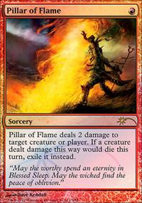 Pillar of Flame - FNM Promos