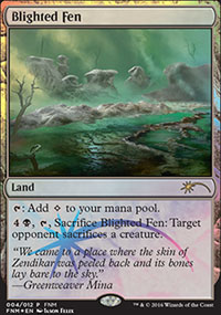Blighted Fen - FNM Promos