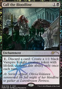 Call the Bloodline - FNM Promos