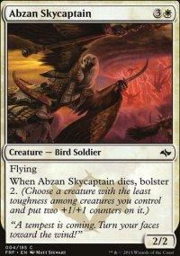 Abzan Skycaptain - Fate Reforged