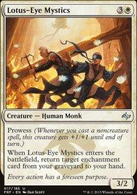 Lotus-Eye Mystics - Fate Reforged