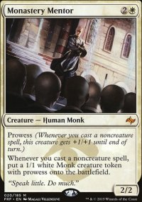 Monastery Mentor - Fate Reforged