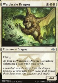 Wardscale Dragon - Fate Reforged
