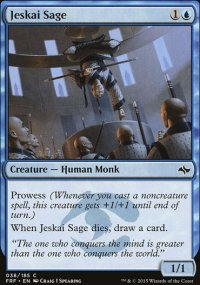 Jeskai Sage - Fate Reforged