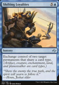 Shifting Loyalties - Fate Reforged
