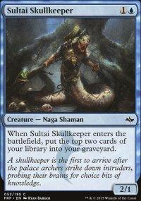 Sultai Skullkeeper - Fate Reforged