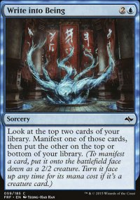 Write into Being - Fate Reforged