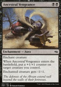 Ancestral Vengeance - Fate Reforged