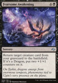 Fearsome Awakening - Fate Reforged
