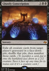 Ghastly Conscription - Fate Reforged