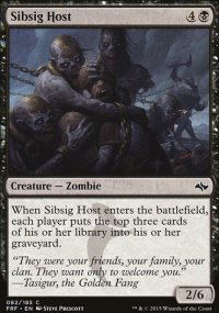 Sibsig Host - Fate Reforged