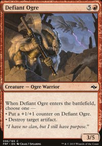 Defiant Ogre - Fate Reforged