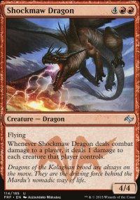 Shockmaw Dragon - Fate Reforged