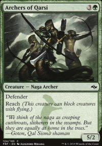 Archers of Qarsi - Fate Reforged