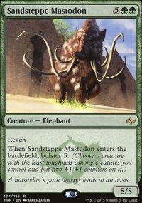 Sandsteppe Mastodon - Fate Reforged