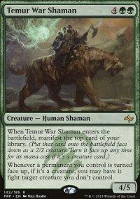 Temur War Shaman - Fate Reforged