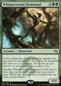 Whisperwood Elemental - Fate Reforged