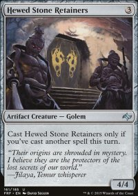 Hewed Stone Retainers - Fate Reforged
