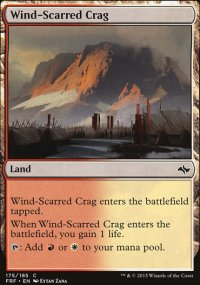 Wind-Scarred Crag - Fate Reforged