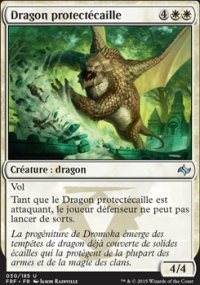 Dragon protectécaille -