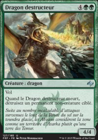Dragon destructeur -