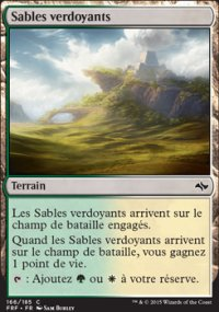 Sables verdoyants -