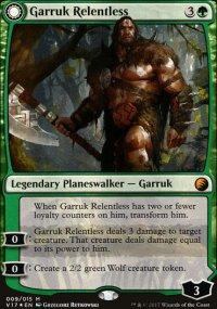 Garruk Relentless - From the Vault: Transform