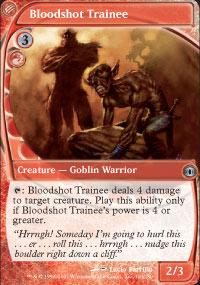 Bloodshot Trainee - Future Sight