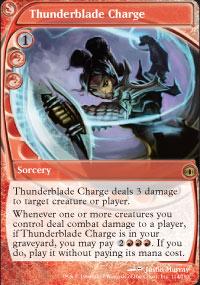 Thunderblade Charge - Future Sight