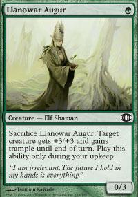 Llanowar Augur - Future Sight