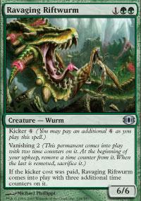 Ravaging Riftwurm - Future Sight