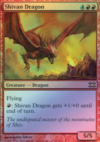 Shivan Dragon - From the Vault : Dragons