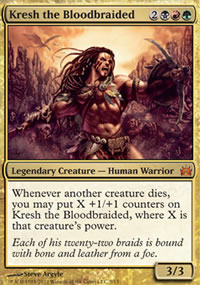 Kresh the Bloodbraided - From the Vault : Legends