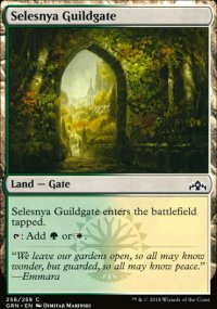 Selesnya Guildgate 2 - Guilds of Ravnica