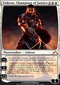 Gideon, Champion of Justice - Gatecrash