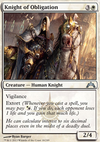 Knight of Obligation - Gatecrash