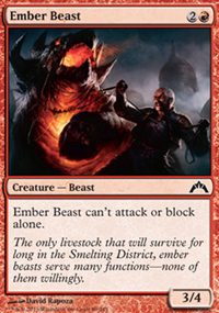 Ember Beast - Gatecrash
