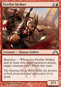 Firefist Striker - Gatecrash