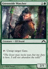 Greenside Watcher - Gatecrash