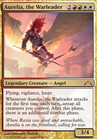 Aurelia, the Warleader - Gatecrash
