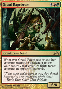 Gruul Ragebeast - Gatecrash
