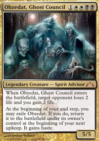 Obzedat, Ghost Council - Gatecrash