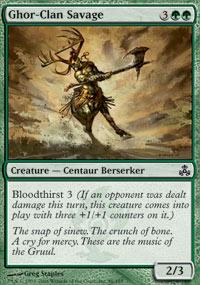 Ghor-Clan Savage - Guildpact
