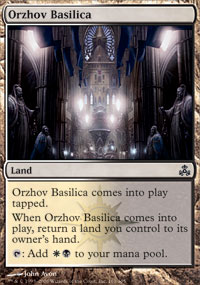 Orzhov Basilica - Guildpact