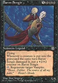 Baron Sengir - Homelands