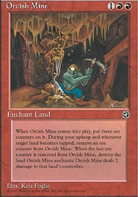 Orcish Mine - Homelands
