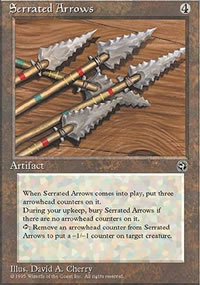 Serrated Arrows - Homelands